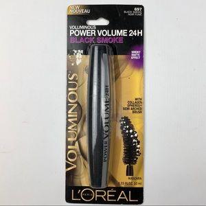 L'Oréal Power Volume Mascara 24H 697 Black Smoke